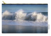 Waves Against The Wind Carry-all Pouch