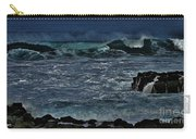 Waves And Wind Carry-all Pouch