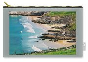 Waves Coming Ashore At Sybil Point Ireland  # 1 Carry-all Pouch