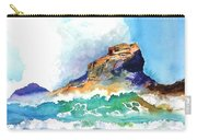 Waves Bursting On Rocks Carry-all Pouch