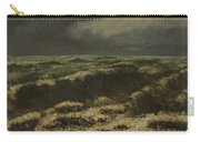 waves by Gustave Courbet Carry-all Pouch