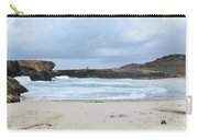 Waves Crashing Ashore With Large Rock Formations Carry-all Pouch