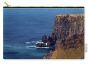 Waves Crashing At Cliffs Of Moher Ireland Carry-all Pouch