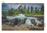 Waves Crashing Kawee Point Carry-all Pouch