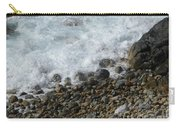 Waves Meet Pebbles Carry-all Pouch