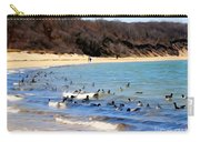 Waves Of Ducks Carry-all Pouch