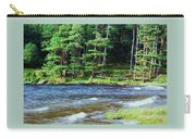 Waves On The Lake At Glendalough Carry-all Pouch