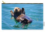 Waving Otter Carry-all Pouch