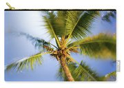 Waving Palm Carry-all Pouch
