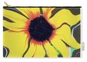 Waving Sunflower Carry-all Pouch