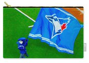 Waving The Flag For The Home Team      The Toronto Blue Jays Carry-all Pouch