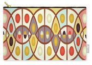 Wavy Geometric Abstract Carry-all Pouch