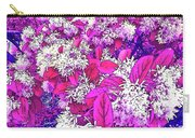 Waxleaf Privet Blooms On A Sunny Day With Magenta Hue Carry-all Pouch