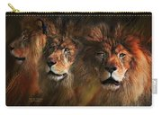 Way Of The Lion Carry-all Pouch