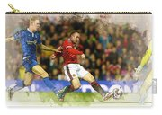 Wayne Rooney Of Manchester United Scores Carry-all Pouch