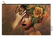 Blooms A Fragile Yellow Rose Carry-all Pouch