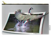 We Have Liftoff - Use Red-cyan 3d Glasses Carry-all Pouch