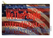We The People Of The United States Of America Carry-all Pouch