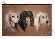 'we Three Salukis' Carry-all Pouch