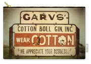 Wear Cotton Carry-all Pouch