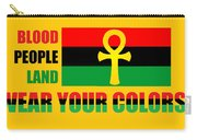 Wear Red Black And Green Carry-all Pouch