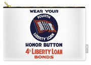 Wear Your Honor Button Carry-all Pouch