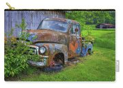 Wears Valley 1954 Gmc Wears Valley Tennessee Art Carry-all Pouch
