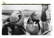Weary Vietnamese Refugees Carry-all Pouch