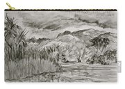 Weather Over Agua Caliente Carry-all Pouch