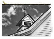 Weather Vane Bw Carry-all Pouch