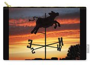 Weather Vane  Carry-all Pouch