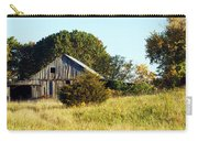Weathered Barn In Fall Carry-all Pouch