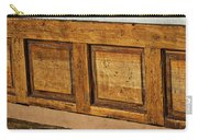 Weathered Bench - Santa Fe #2 Carry-all Pouch