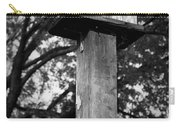 Weathered Bird House Carry-all Pouch