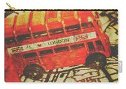 Weathered Bus Routes Carry-all Pouch