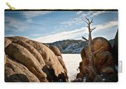 Weathered - Pathfinder Reservoir - Wyoming Carry-all Pouch