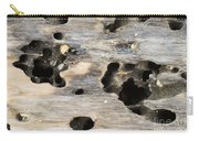 Weathered Driftwood Carry-all Pouch