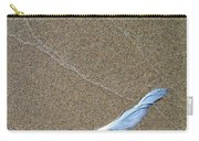 Weathered Feather  Carry-all Pouch
