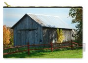 Weathered Garage N Fall Carry-all Pouch