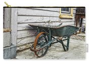 Weathered Green Wheelbarrow Carry-all Pouch