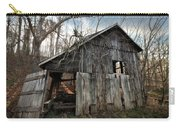 Weathered Old Abandoned Barn Carry-all Pouch