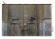 Weathered Old Door On A Building In Palermo Sicily Carry-all Pouch