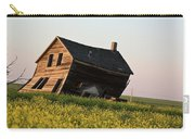 Weathered Old Farm House In Scenic Saskatchewan Carry-all Pouch