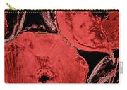 Weathered Poppies Carry-all Pouch