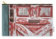 Weathered Red Door 1 Carry-all Pouch
