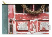 Weathered Red Door 3 Carry-all Pouch