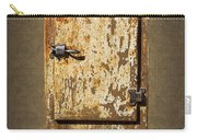 Weathered Rusty Refrigerator Carry-all Pouch