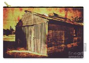 Weathered Vintage Rural Shed Carry-all Pouch