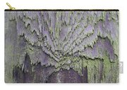Weathered Wood And Lichen Abstract Carry-all Pouch
