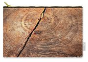 Weathered Wood On Old Tree Carry-all Pouch